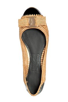 Tweed Ferragamo flats - can I have one in every color?
