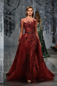 7047b51108a ZIAD NAKAD COUTURE - Fall Winter 2017 18 - FASHION INSIDER MAGAZINE Couture  Week