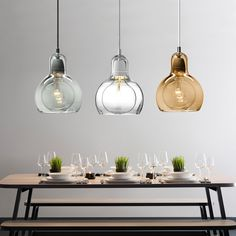 Dependable 7 Color Industrial Colourful Glass Ball Led Pendant Lamps Modern E27 Lights Cord For Kitchen Restaurant Living Room Cafe Bar Ceiling Lights & Fans