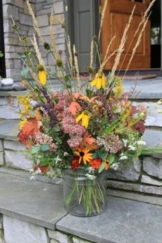 Bonnie Helander Blogs about Creating a Fabulous Fall Arrangement Using Elements in your Garden | Fayette Woman