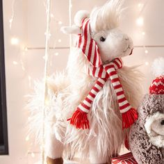 Lima, our exclusive plush llama, has traveled all the way from the Andes to join your holiday festivities. Christmas Wishlist 2017, Llama Stuffed Animal, Find Furniture, Pier 1 Imports, Holiday Festival, Kitsch, Baby Room, Plush, Lima