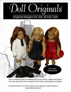 Designer Pattern for the 18  inch doll