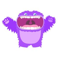 "Monsters are ""ugly"" - Adjectives in English #adjectivestodescribepeople #adjectivesinenglish #adjetivoseningles #adjectivesforkindergarden #adjectivesforkids #positiveadjectives #englishforkids #learningenglish"