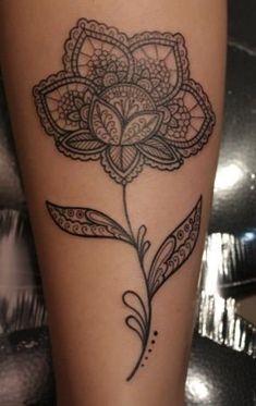 mandala flower tattoo. maravilhosa !! Umas das melhores idéias para a minha nova tatto até agora