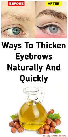 7 Ways To Thicken Eyebrows Naturally And Quickly Thicken Eyebrows Naturally, How To Thicken Eyebrows, How To Make Eyebrows, How To Make Hair, Castor Oil Eyebrows, Natural Eyebrows, Castor Oil For Hair Growth, Hair Growth Oil, Clear Skin Face Mask