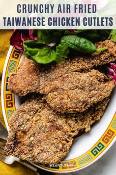 Taiwanese Fried Chicken Cutlets with super crunchy coating and yummy! Whether you pan fry or air fry, this recipe shows you how to make the best chicken cutlets easily! #chickencutlets #airfryerrecipe #taiwaneserecipes #whole30chickenrecipes #ketochickenrecipes Whole30 Dinner Recipes, Paleo Recipes Easy, Summer Recipes, Fried Chicken Cutlets, Fried Pork Chops, Savory Snacks, Healthy Snacks, Whole 30 Chicken Recipes, Food Articles
