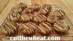 Orange Chocolate Shortbread Cookies Shared on https://www.facebook.com/LowCarbZen