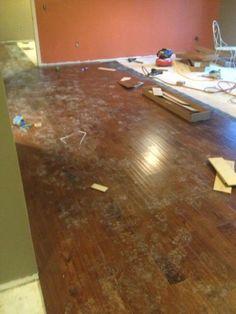 Home make-over living room!