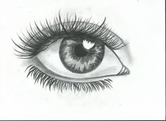 easy drawing | Simple eye drawing :) by Rimvydas2