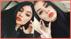 kylie jenner makeup tutorial say what? hope you enjoy this video ft one of kylie jenner's 2016 makeup looks. On her lips she used her own kylie lip kit in .