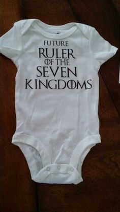 Game of thrones onesie.