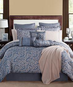 Another great find on #zulily! Angelica Comforter Set #zulilyfinds