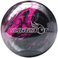 Brunswick Slingshot Black/Pink Bowling Ball