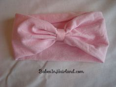 How to Make a Baby Headband. This is stupid-easy...I'm making two today-- one for M and one for her big sister! :)                                                                                                                                                                                 More