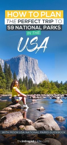How to plan a trip to 59 National Parks with the USA with Moon USA National Parks Guidebook Free Travel, Travel Usa, Overseas Travel, Travel Guides, Travel Tips, Travel Essentials, Cool Places To Visit, Places To Go, Nationalparks Usa