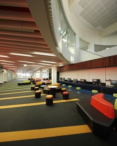 Griffith University Nathan Campus, QLD | Godfrey Hirst Australia Commercial #godfreyhirst #commercialcarpets