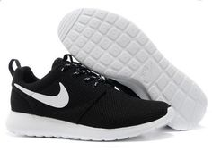 free shipping 40599 a90e5 Authentic Nike Shoes For Sale, Buy Womens Nike Running Shoes 2014 Big  Discount Off Nike Roshe Run Mens Black White Mesh shoes   -