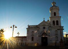 Iglesia de San Sebastián. Cuenca - Ecuador.