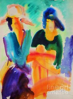 Sittin in the morning sun by Tatjana Krilova Sun Painting, Morning Sun, Watercolors, Wall Art, Water Colors, Sun Drawing, Watercolor Paintings, Watercolor, Watercolour Paintings