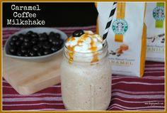 Caramel Coffee Milkshake
