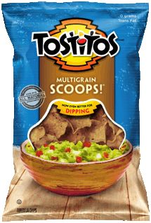 TOSTITOS® Multigrain SCOOPS!® Tortilla Chips    These are sooooooooooooo good!  Love the Baked Scoops and had to give these a try.  A keeper.  Gluten Free.