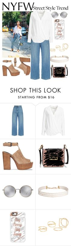 """""""NYFW"""" by ashstylist101 on Polyvore featuring Rachel Comey, By Malene Birger, Rebecca Minkoff, Lanvin, Linda Farrow, Humble Chic, Casetify, MANGO, StreetStyle and NYFW"""