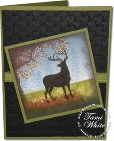 Stampin Up Nature Silhouettes Deer