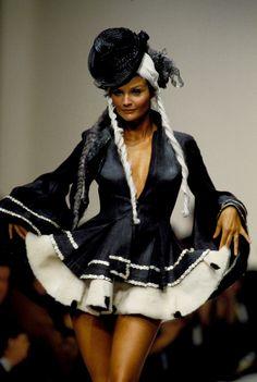 """supermodelshrine: """" Helena for John Galliano, s/s 1994 """""""