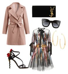 """""""Untitled #8"""" by paris-ranee on Polyvore featuring Elie Saab, Dolce&Gabbana, Yves Saint Laurent, Gucci and Lana"""