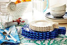 Coastal-Inspired Tableware