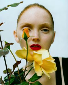 Just a lovely portrait of model Lily Cole photographed by Tim Walker in Via: Suicide Blonde Lily Cole, Editorial Photography, Portrait Photography, Fashion Photography, Glamour Photography, Photography Women, Lifestyle Photography, Portrait Editorial, Flower Photography