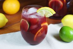 refreshing taste, sangria is a great go-to drink for any get-together. When it comes to the lazy days of summer, easy, big-batch cocktails like this fruity sangria rule.