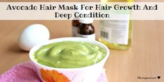 DIY Avocado Hair Mask For Hair Growth And Deep Condition | Alluring Soul