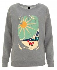 Fox roaming around-Women's Sweater
