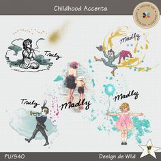 Childhood Accents :: Frames and Clusters :: Elements :: Memory Scraps