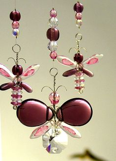 Hey, I found this really awesome Etsy listing at https://www.etsy.com/listing/153809695/pink-butterfly-mobile-childrens-hanging