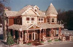 This lady won $50,000 for creating this house. Amazing.