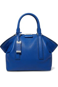 Michael Kors CollectionLexi textured-leather tote