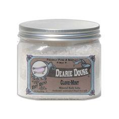 Dearie Douse - Clove Mint, Dead Sea Salt Bath
