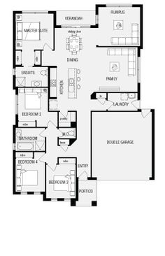 Chelsea, New Home Floor Plans, Interactive House Plans - Metricon ...