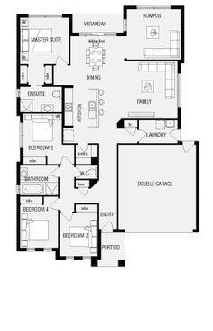 Denver  New Home Floor Plans  Interactive House Plans   Metricon    Mantra  New Home Floor Plans  Interactive House Plans   Metricon Homes   South Australia