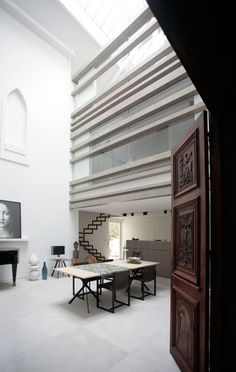 An apartment in Paris by Christophe Delcourt and Guillaume Terver with Lelad.