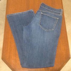 """Old Navy Bootcut Jeans """"The Flirt"""" Fit Dark wash blue jeans with a boot cut. In good condition. Old Navy Jeans Boot Cut"""