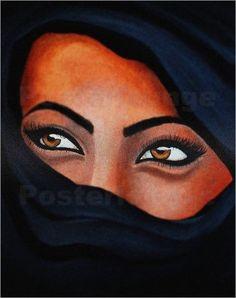 Poster / Leinwandbild Tuareg - Der Sand auf deiner Haut - ANOWI