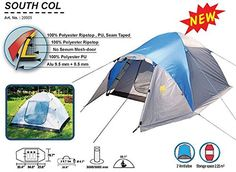awesome High Peak Outdoors South Col 3 Person, 4 Season Expedition Backpack Tent