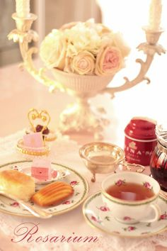 Tea Time at The Rosarium