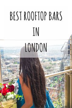 My favorite rooftop bars in London