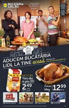Catalog LIDL – Bucuria Lidl la tine acasa, valabilitate: 31 August 2015 – 06 Septembrie 2015