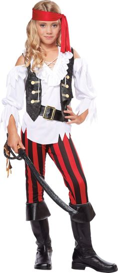 Trying not to look like a slutty pirate is hard. So here's an adorable costume I hope to recreate!