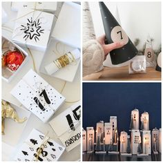 9 suggestions for pretty, easy and cheap advent calenders!